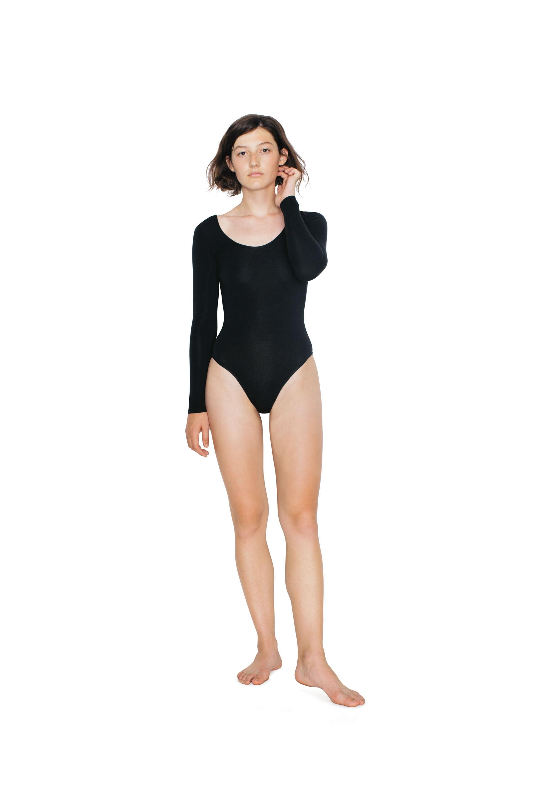 AMA Bodysuit Cot/Spandex LS