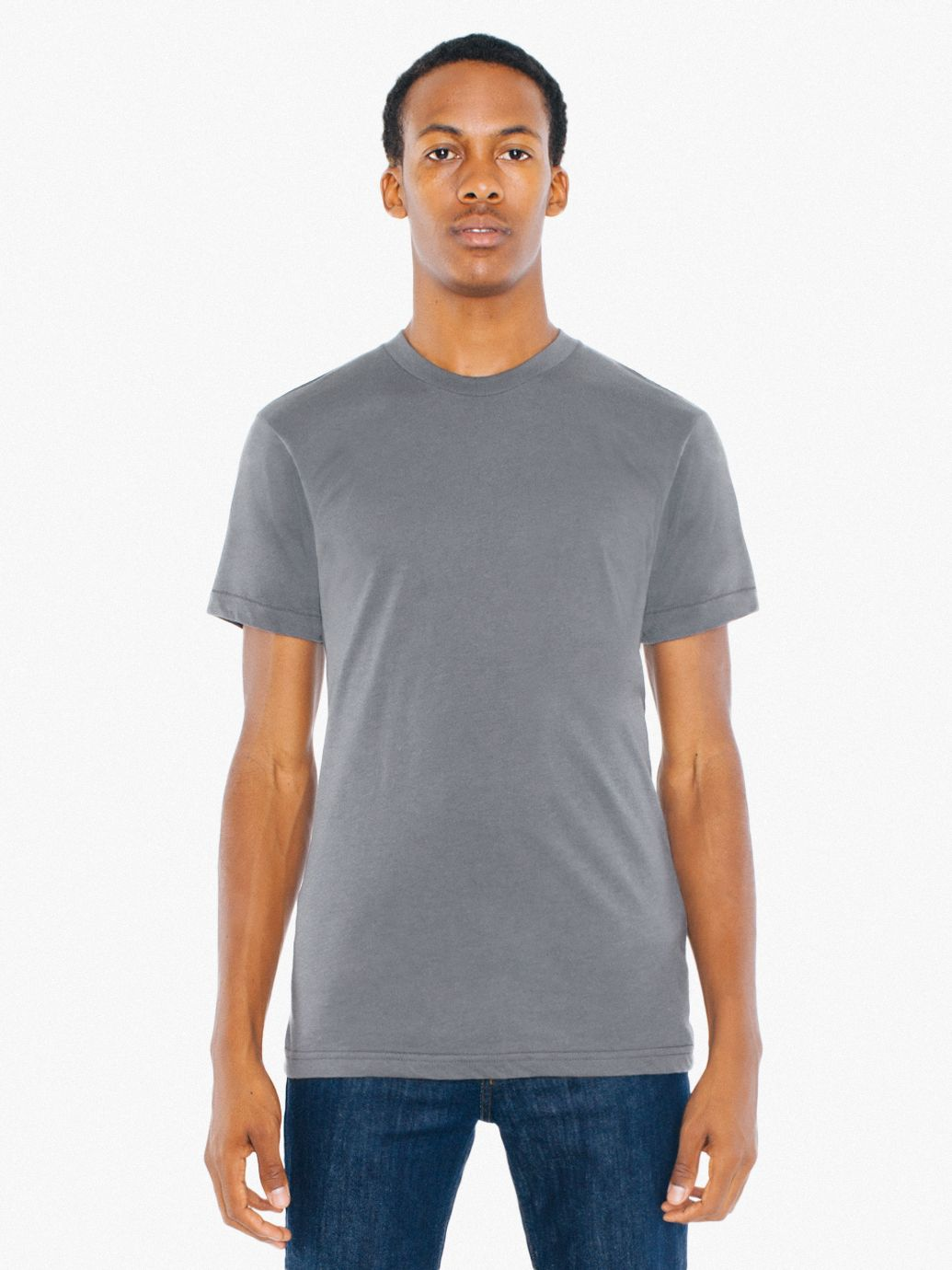 AMA T-shirt Crew Neck Pol/Cot For Him