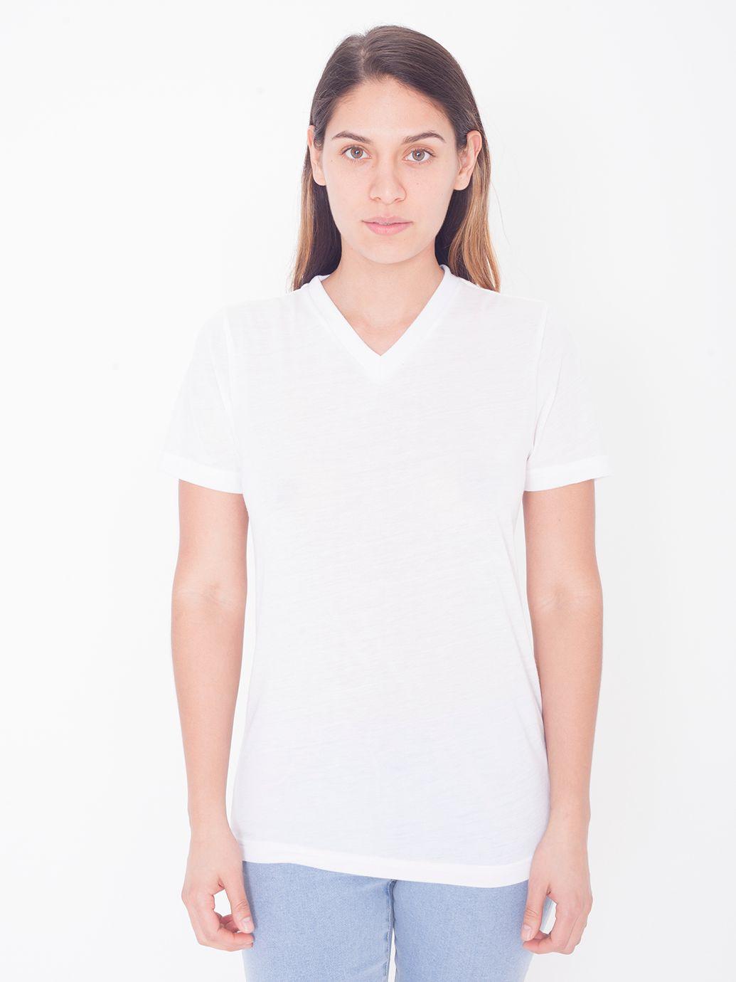 AMA T-shirt V-neck Sublimation For Her