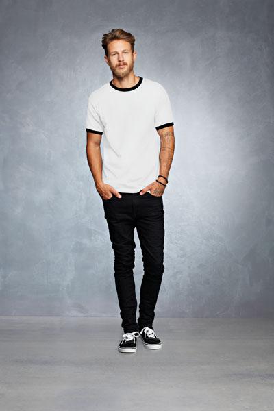 Anvil T-shirt Ringer