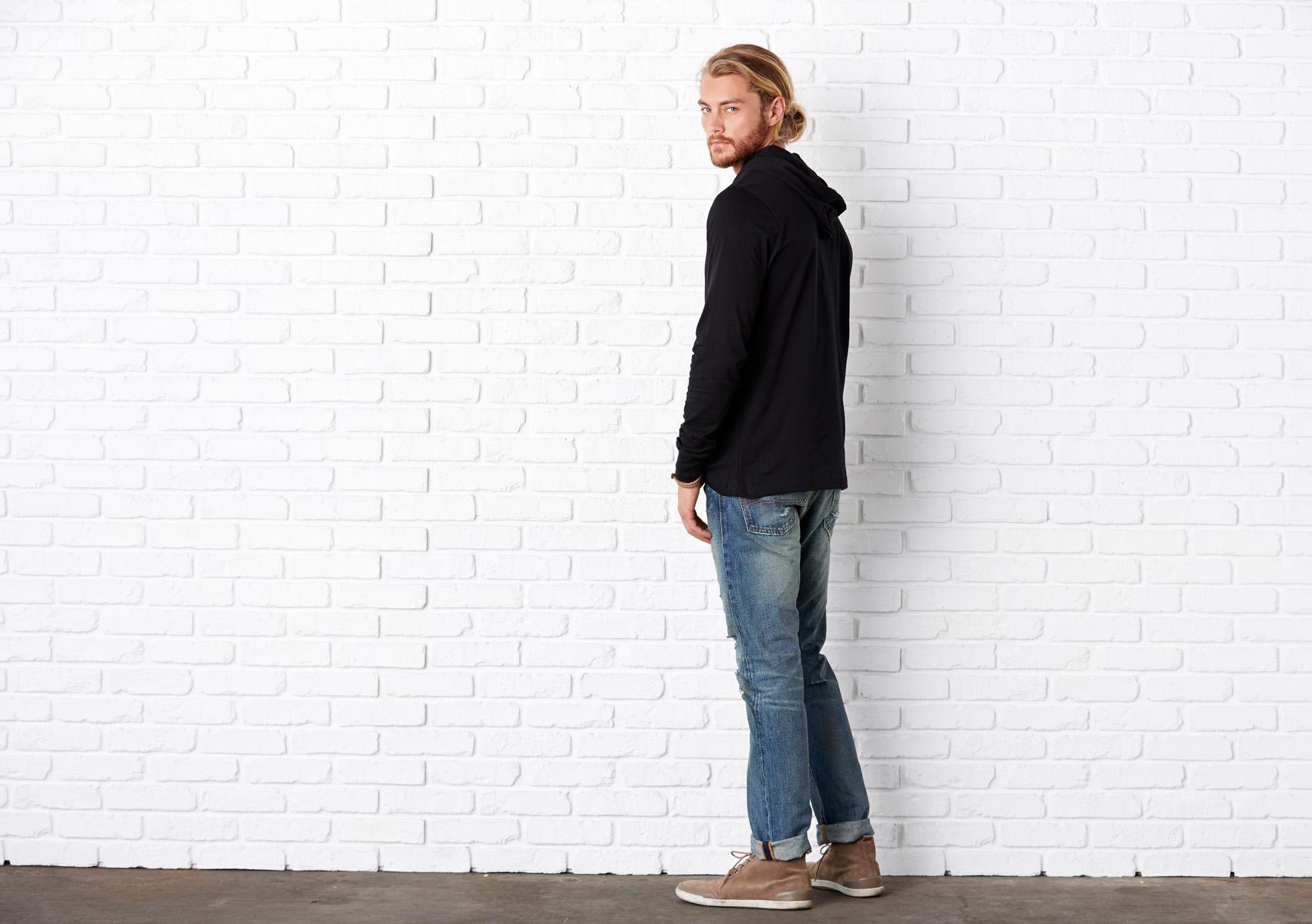Bel+Can T-shirt Hood Unisex LS