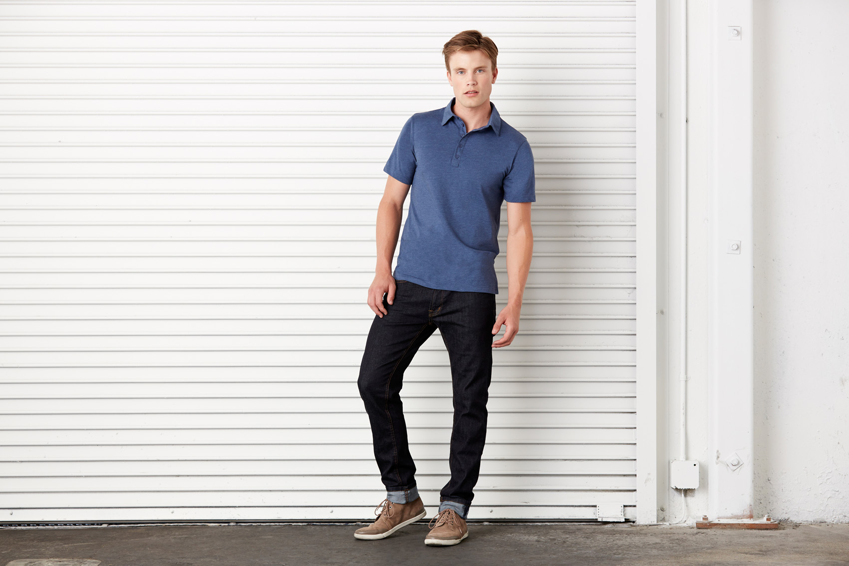 Bel+Can Polo 5-button