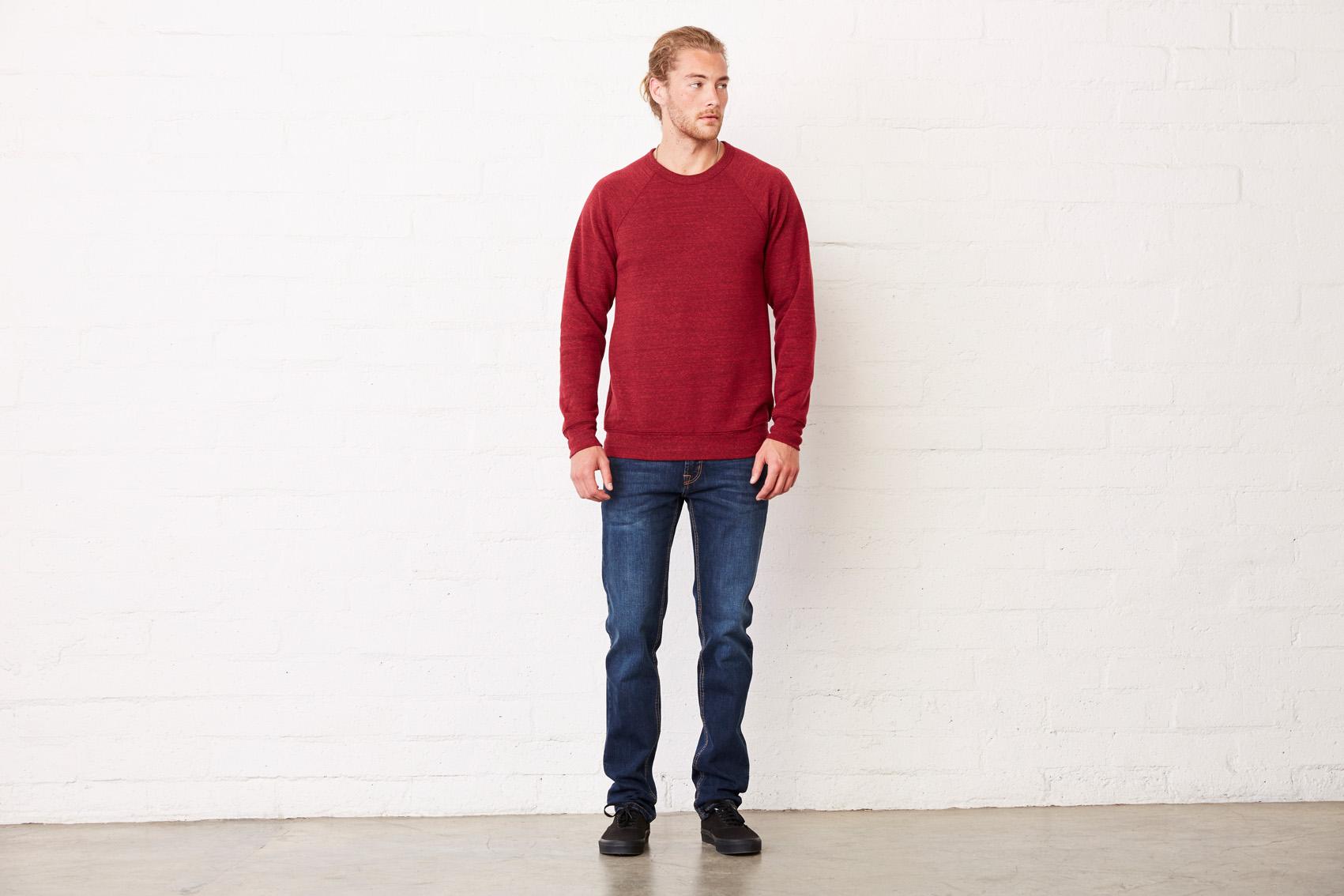 Bel+Can Sweater Crewneck Tribl Unisex