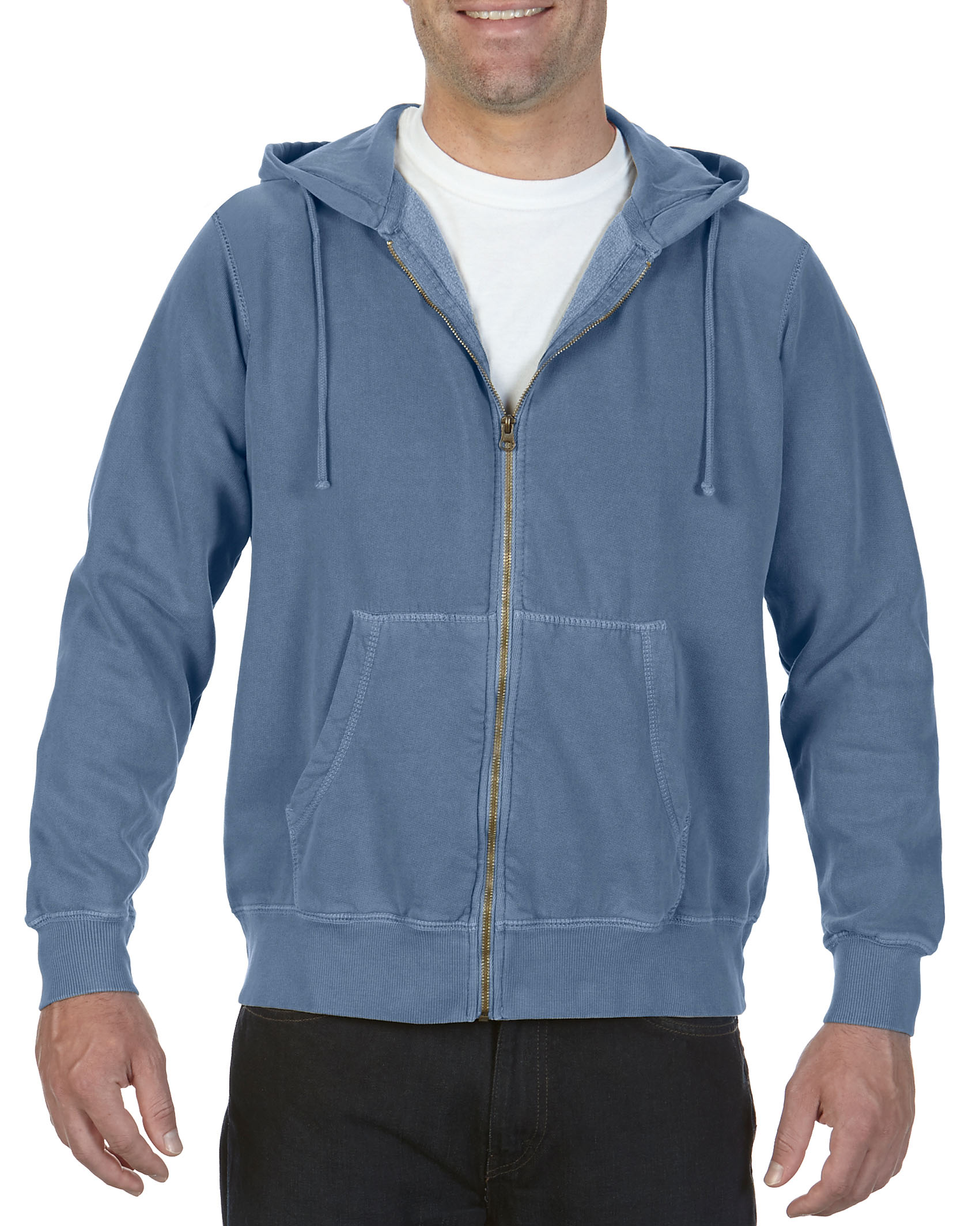 ComCol Hooded Sweatshirt Adult Full Zip