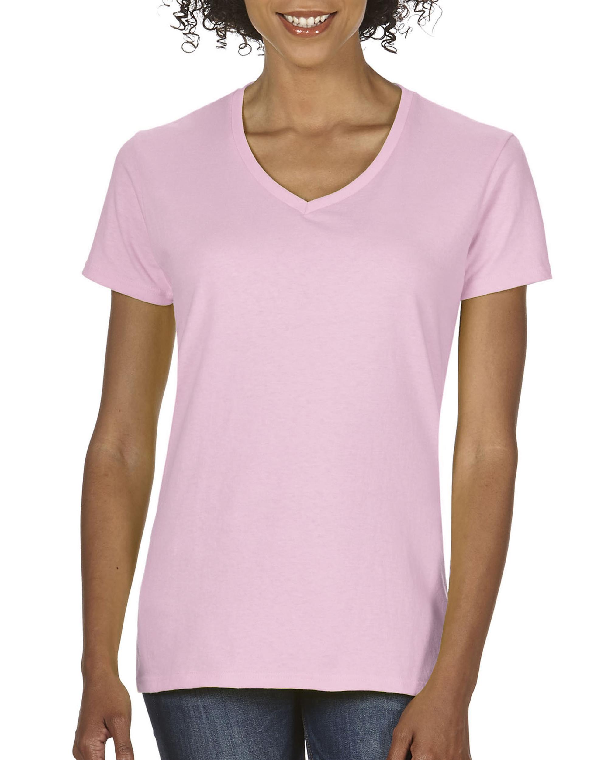 CC T-shirt V-hals Volwassen 185 grs Korte mouw voor Dames