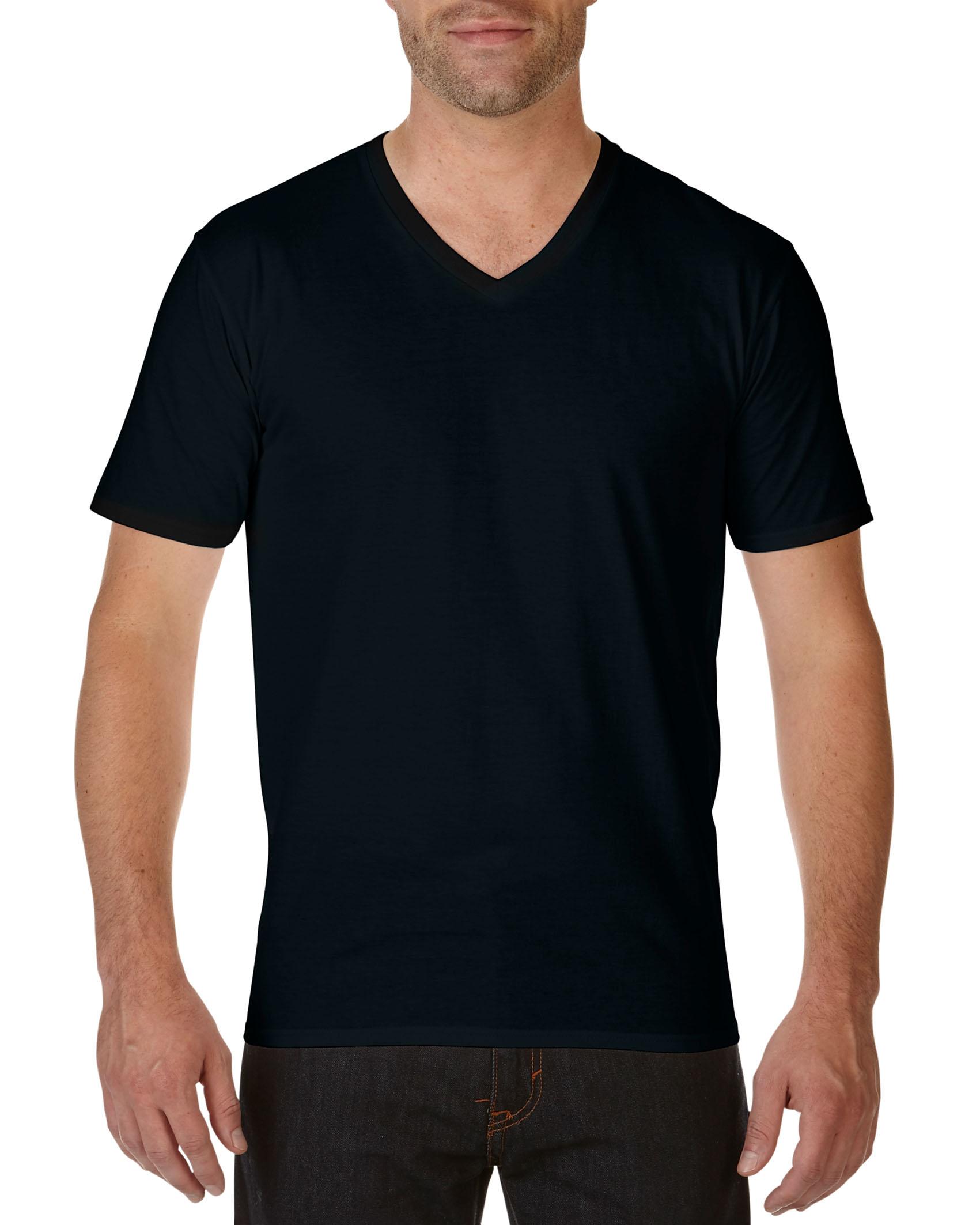 Gildan V-hals T-shirt Premium Katoen voor Heren