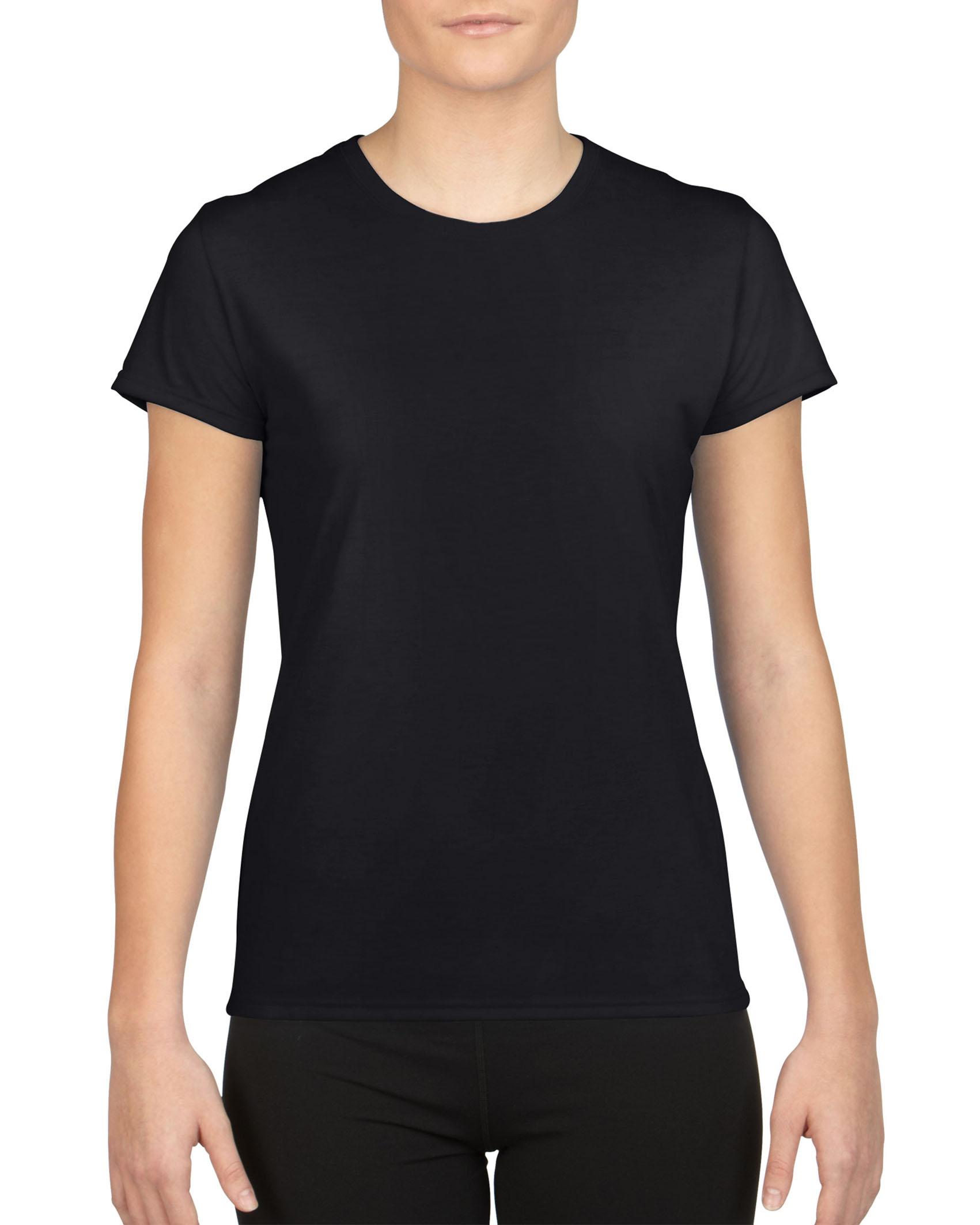 Gildan T-shirt Performance Korte mouw voor Dames