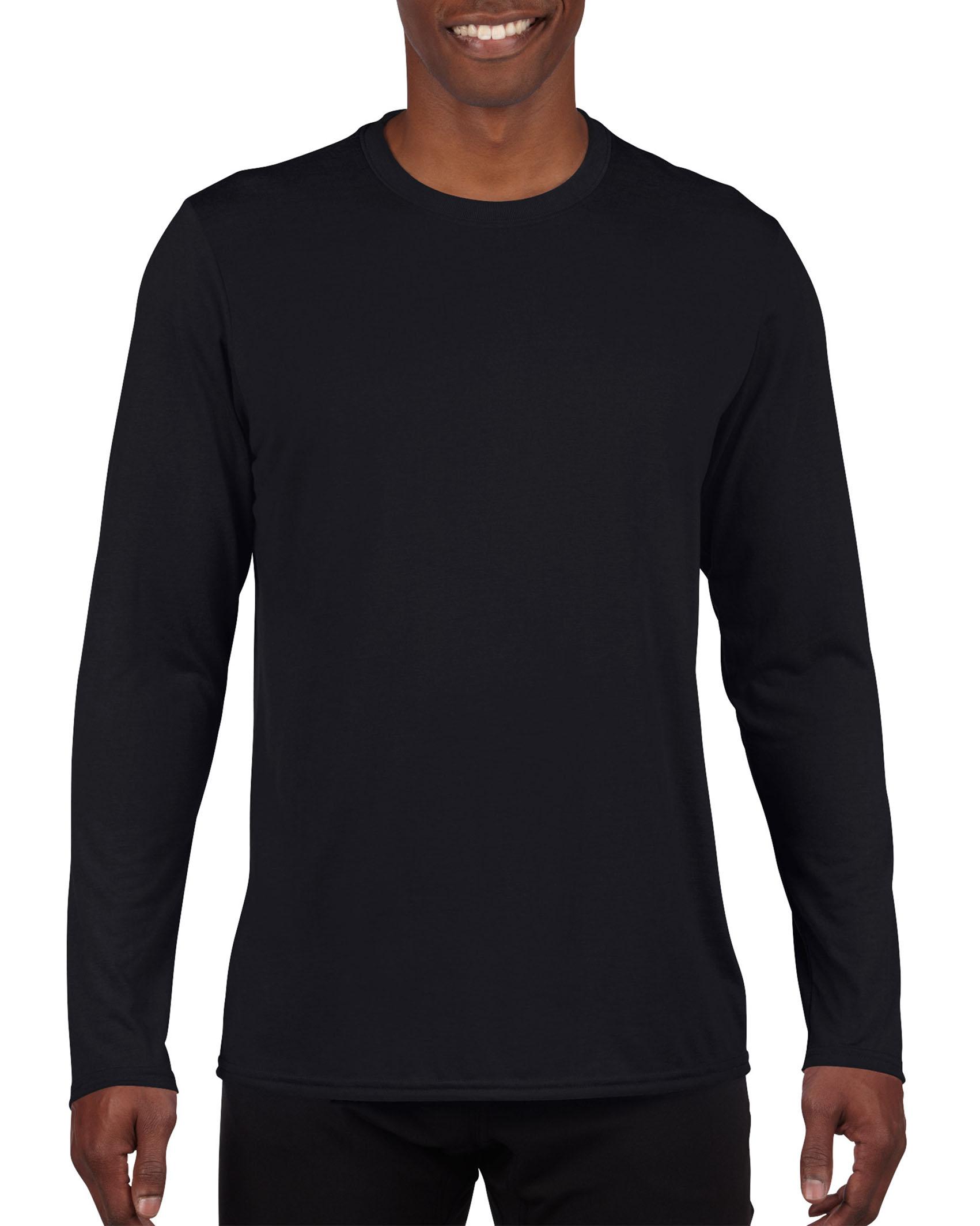 Gildan T-shirt Performance Lange mouw voor Heren
