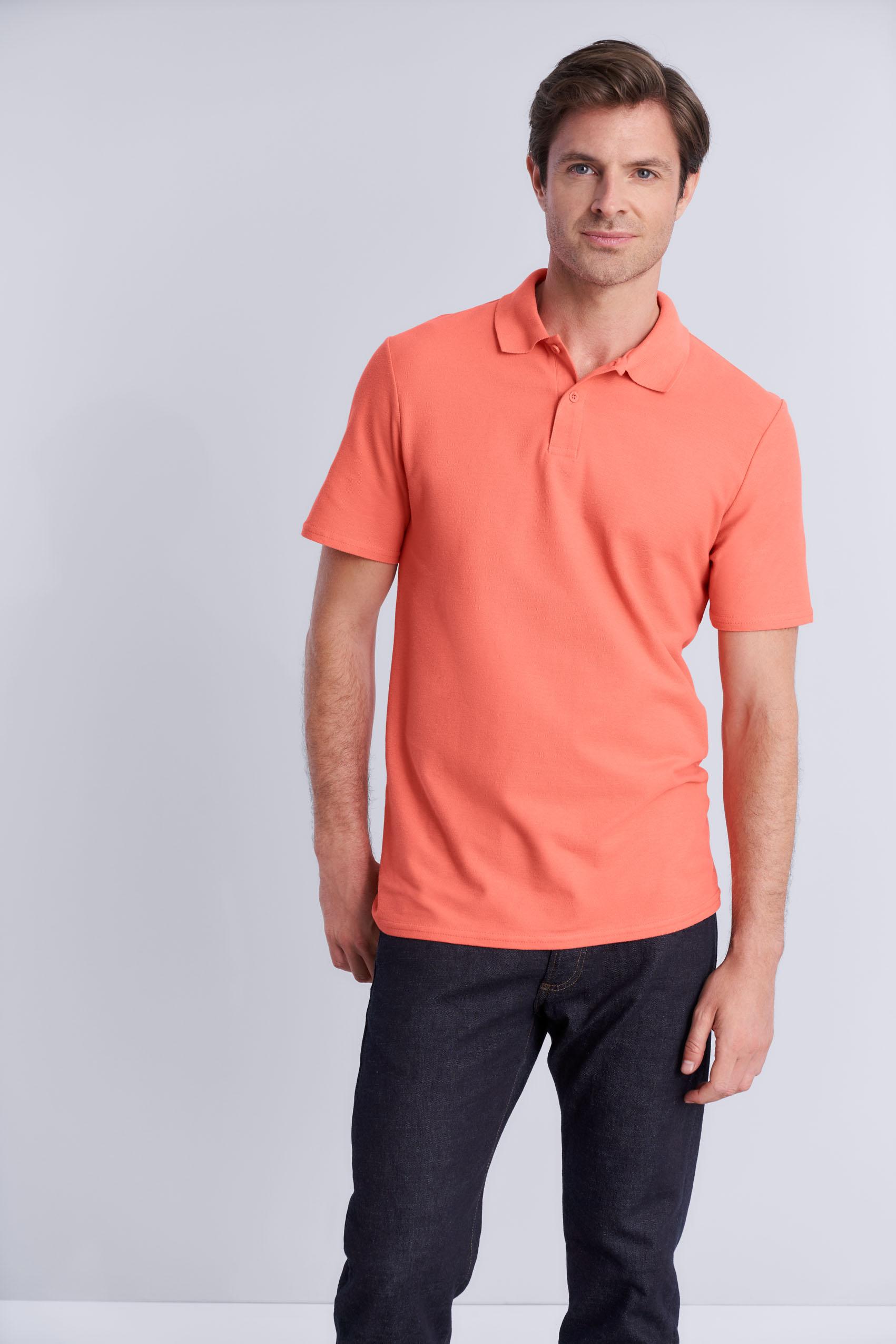 Gildan Polo Dubbel Pique Softstyle voor Heren