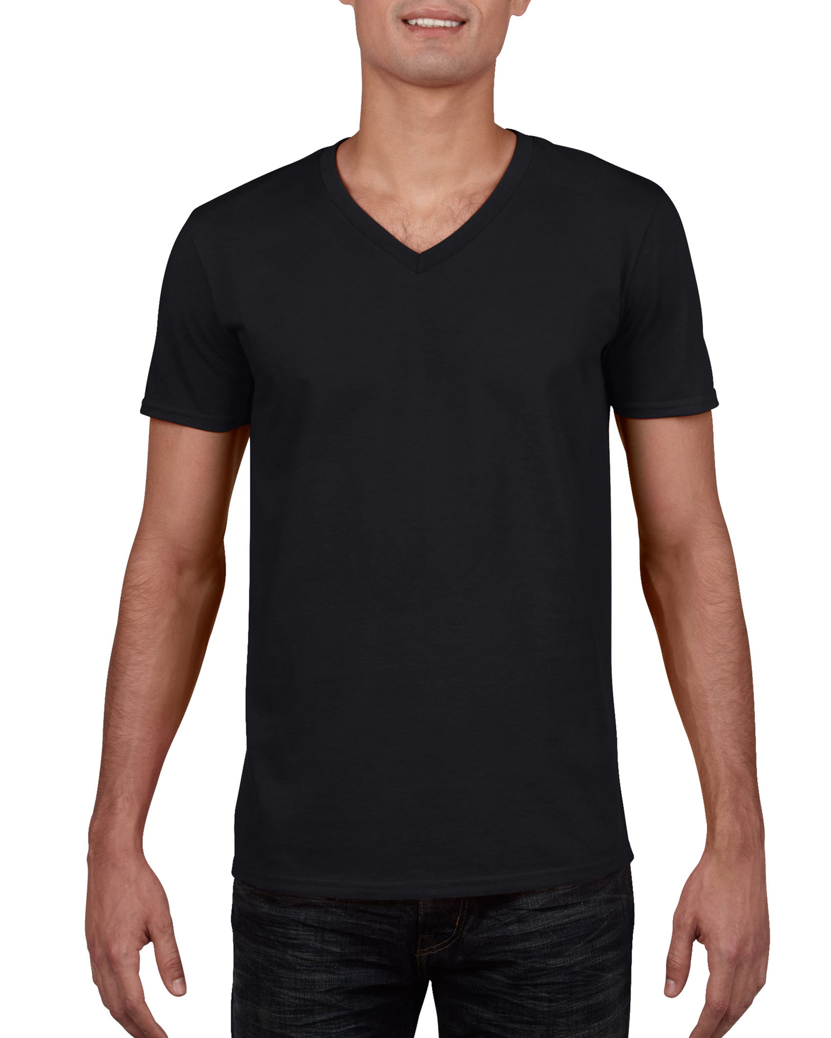 Gildan T-shirt V-Neck SoftStyle for him
