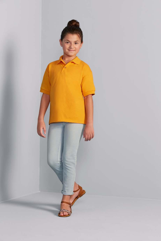 Gildan Polo Jersey Dryblend voor Kinderen