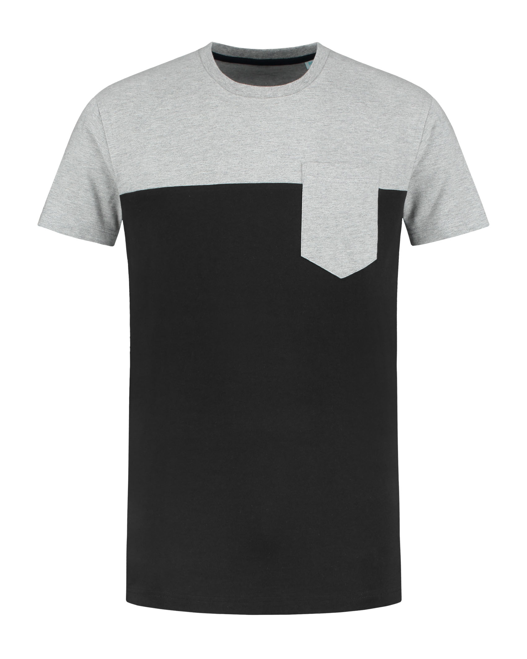L&S T-shirt iTee pocket SS