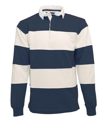 L&S Rugby Shirt Stripe