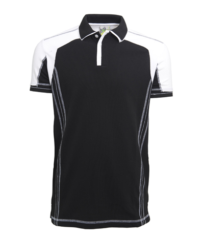 L&S Polo Contrast SS for him