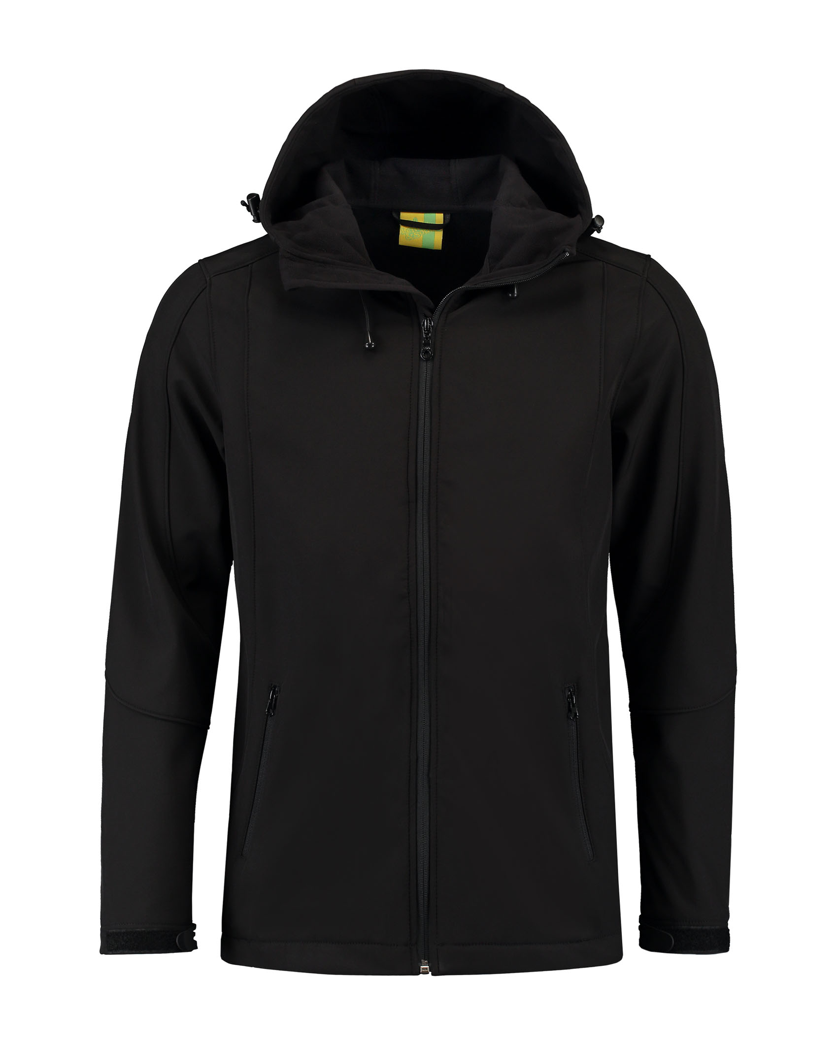 L&S Jacket Hooded Softshell for him