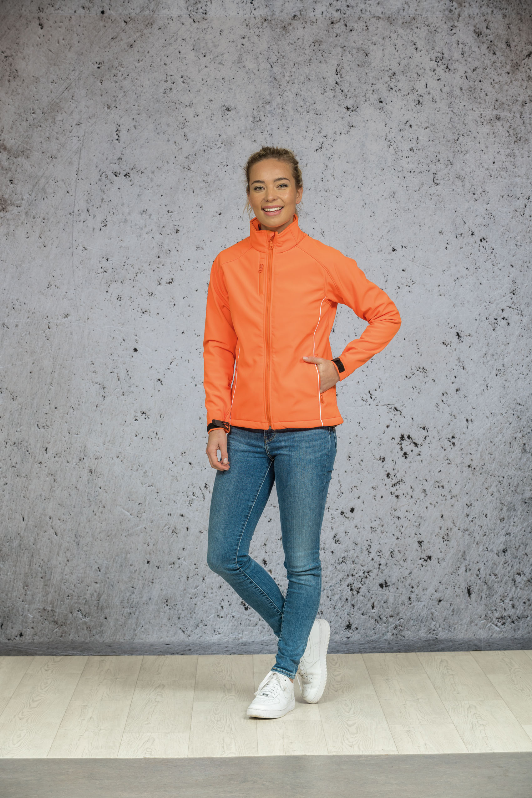 L&S Jas Softshell  voor Dames