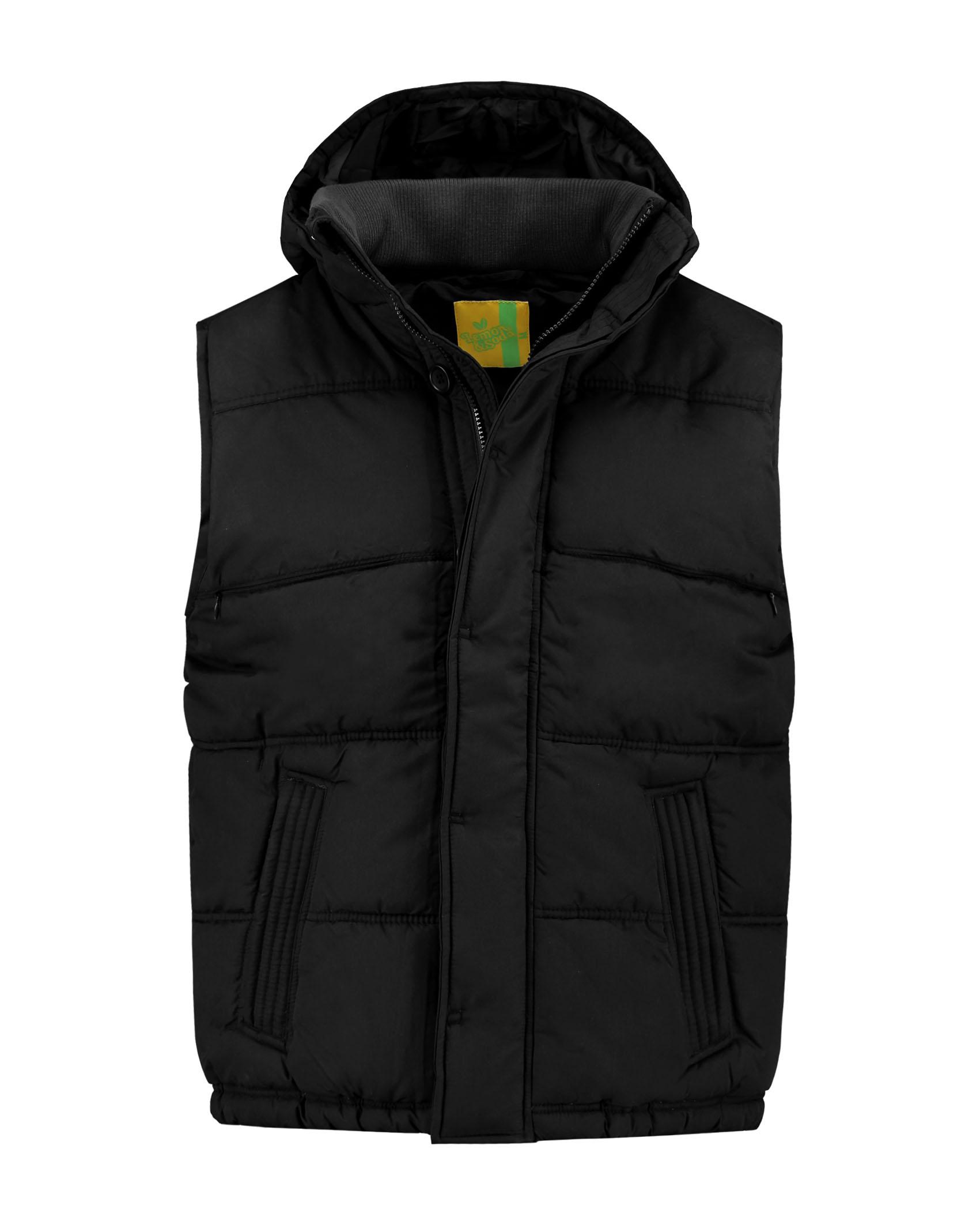 L&S Bodywarmer Hooded Unisex