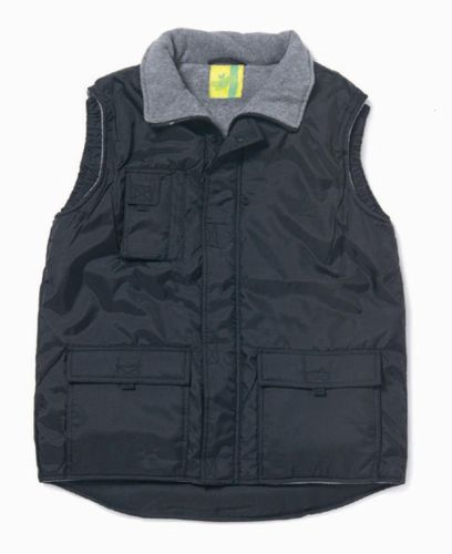 L&S Bodywarmer Oxford/Polar Fleece