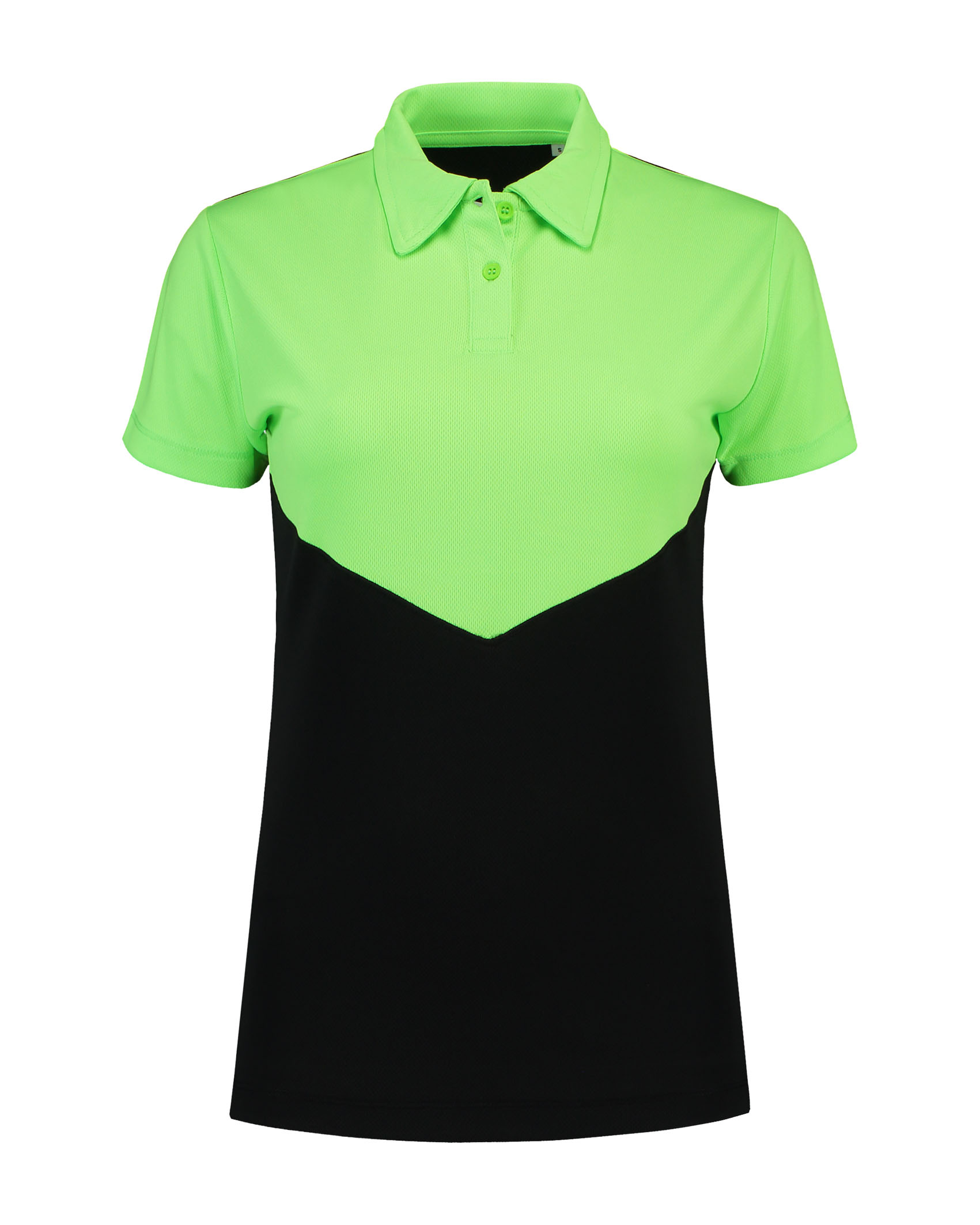 L&S Polo Contrast Sport SS for her