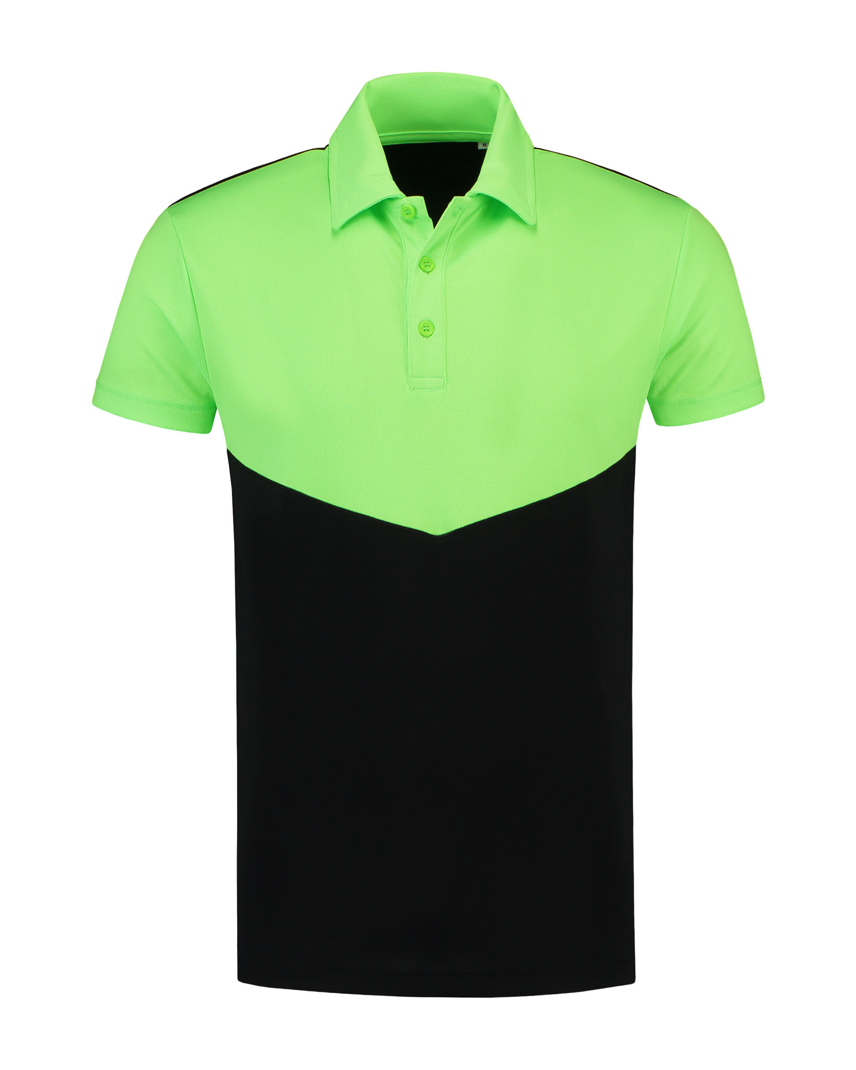 L&S Contrast Sports Poloshirt for him