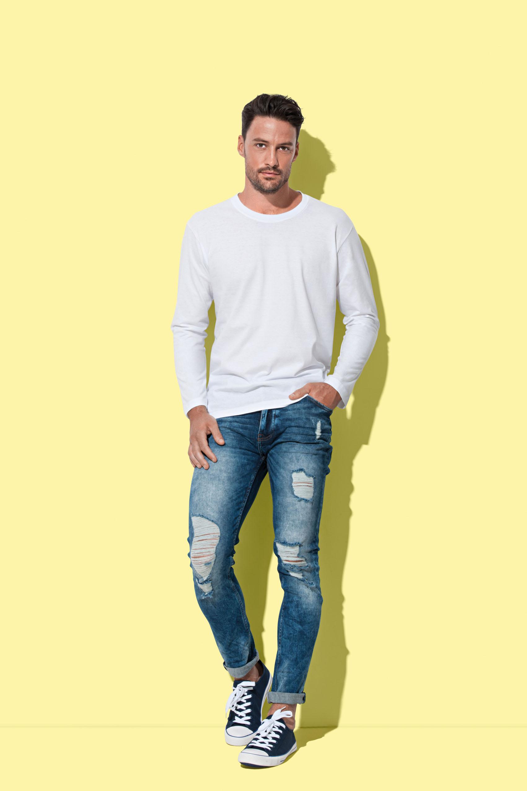 Stedman T-shirt Classic-T Lange mouw