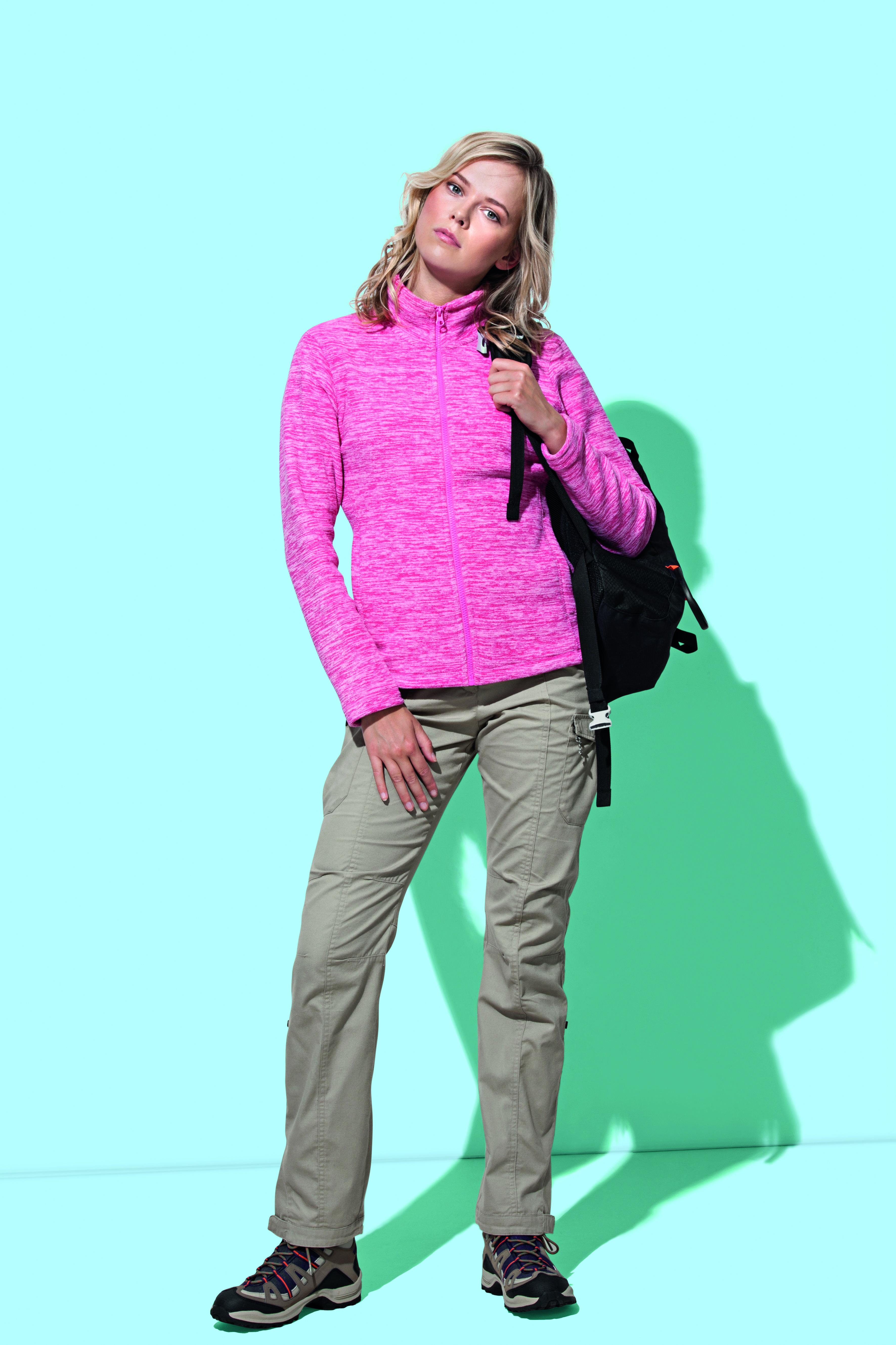 Stedman Melange Fleece Jas Actief voor Dames