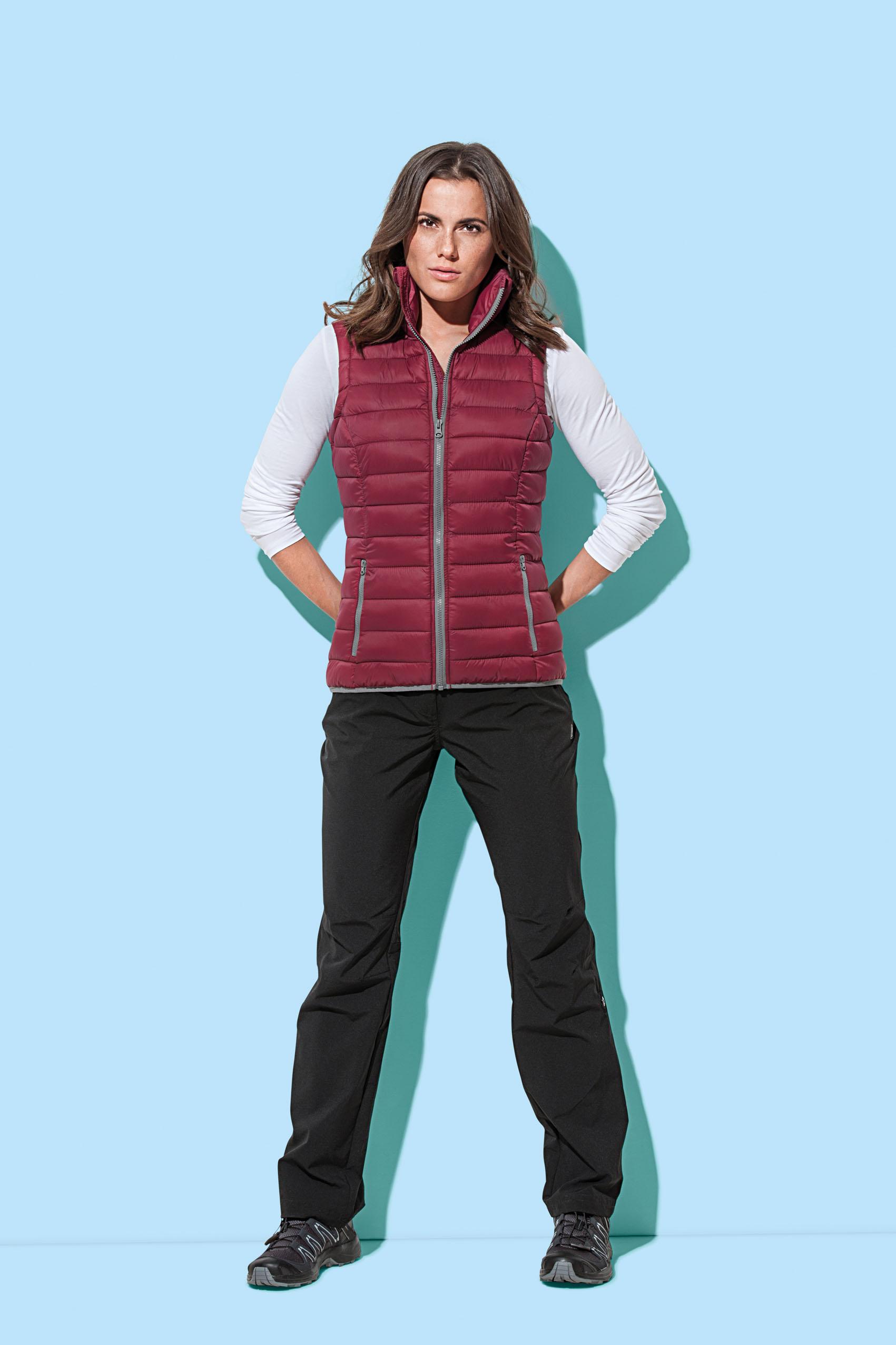 Stedman Gevoerde Vest Actief voor Dames