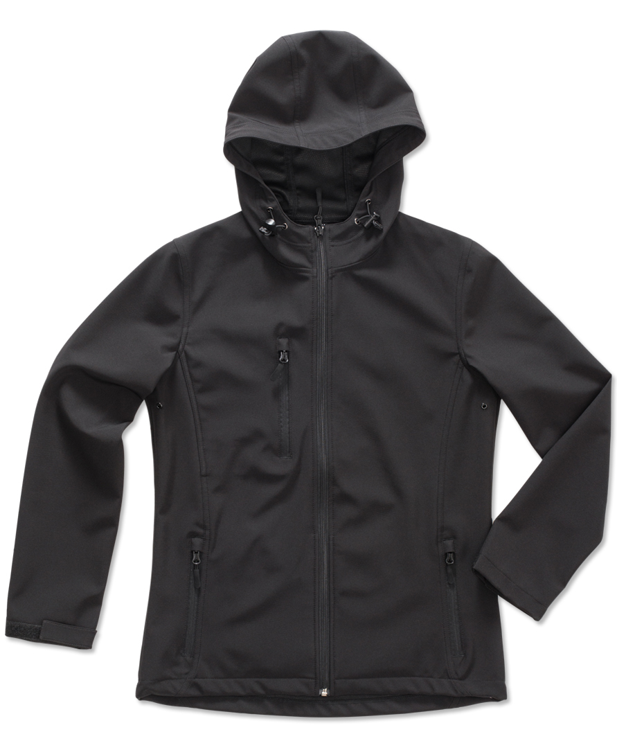 Stedman Jacket Hooded Softshell for her