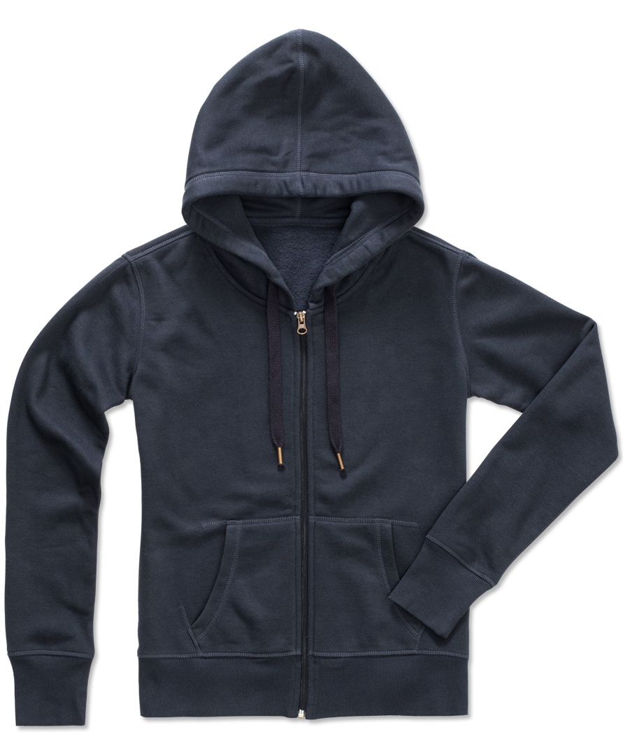 Stedman Sweater Hooded Zip Active for her