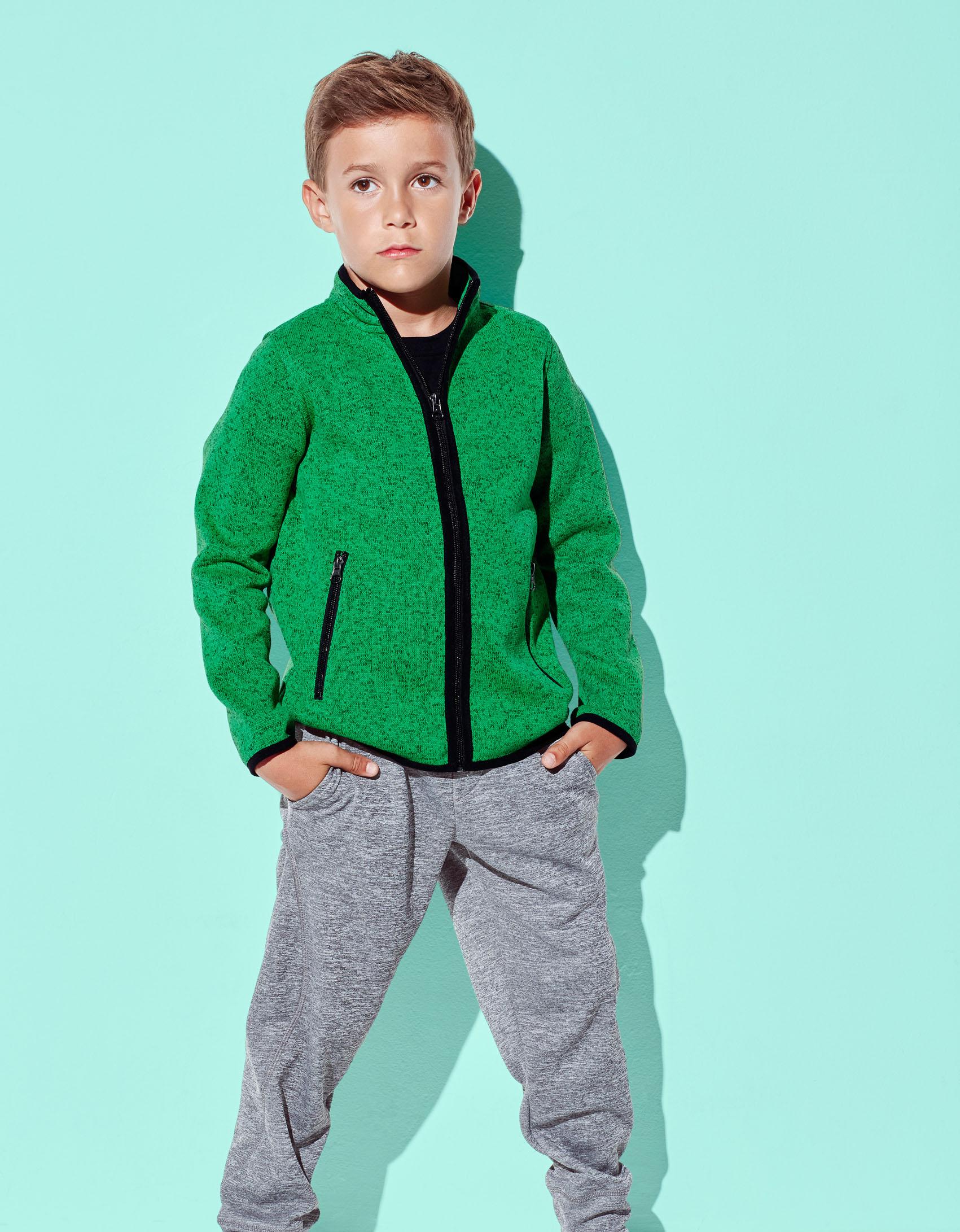 Stedman Knit Fleece Actief voor Kinderen