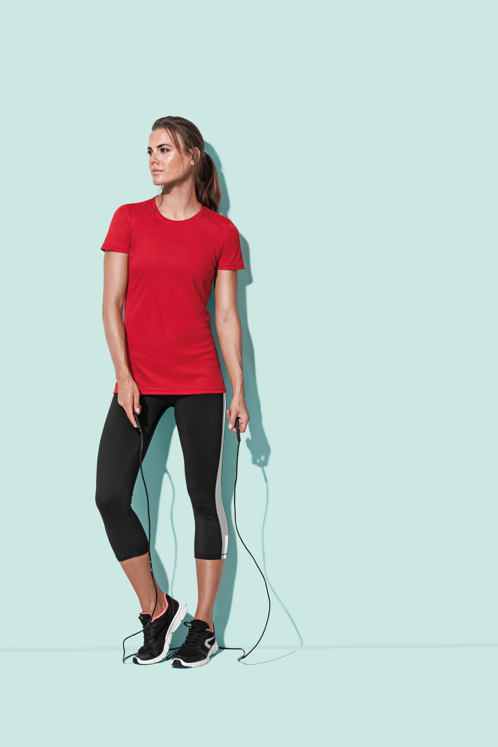 Stedman T-shirt Interlock ActiefDry voor Dames