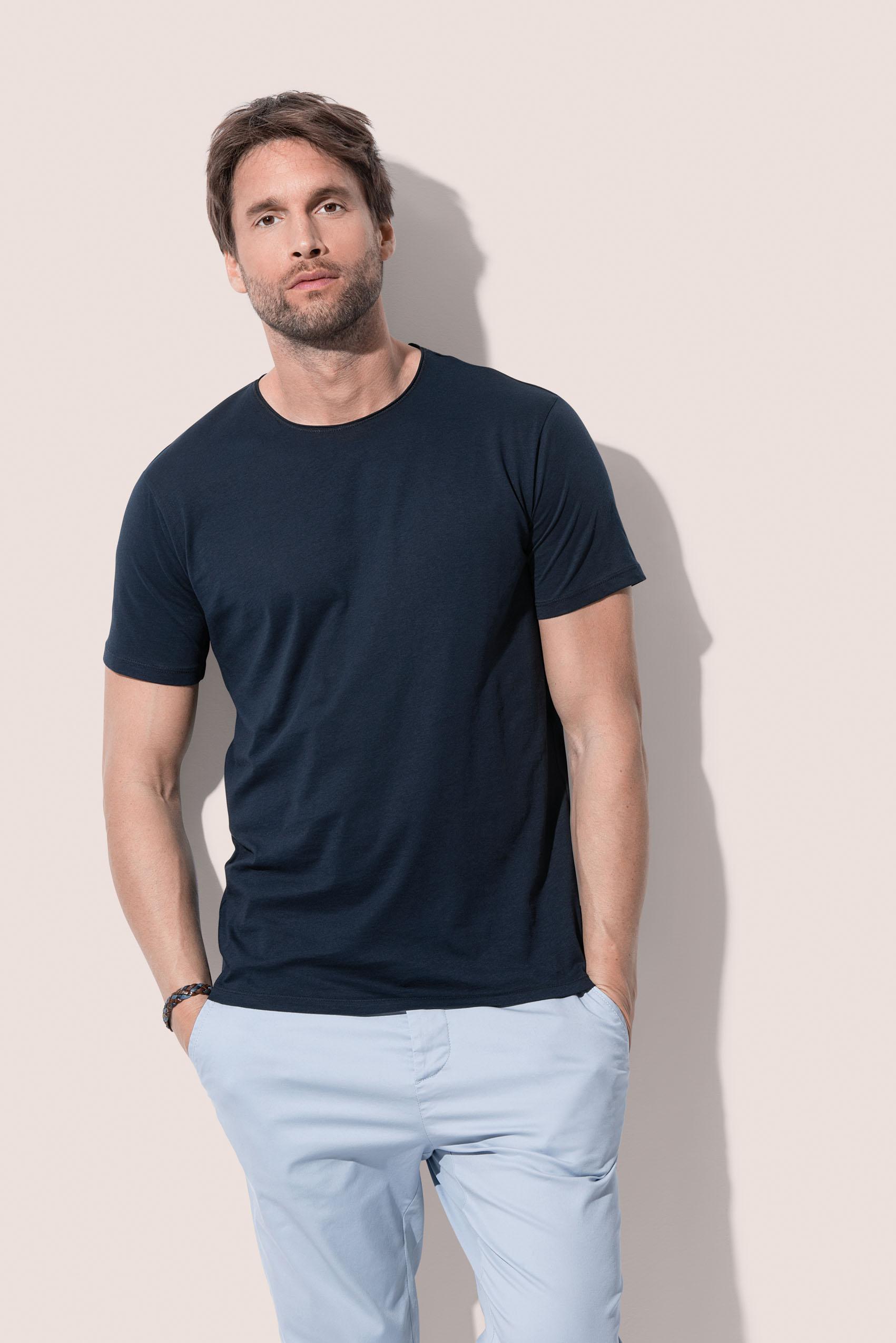 Stedman T-shirt Finest Katoen-T voor Heren