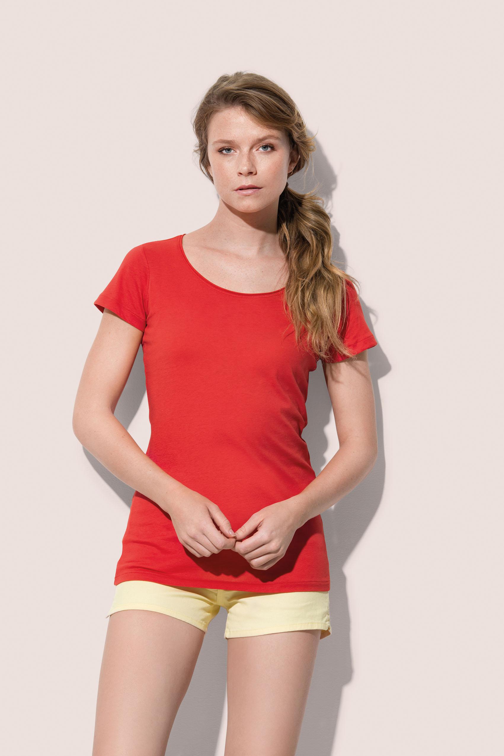 Stedman T-shirt Finest Katoen-T voor Dames