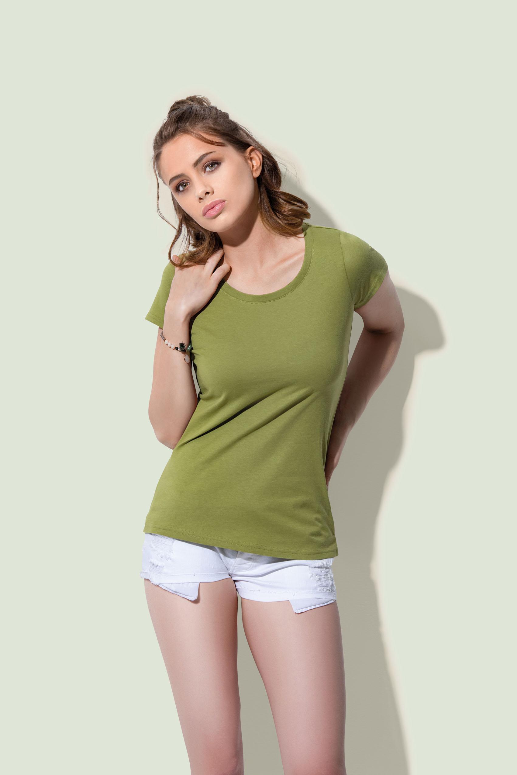 Stedman T-shirt Ronde hals Janet voor Dames