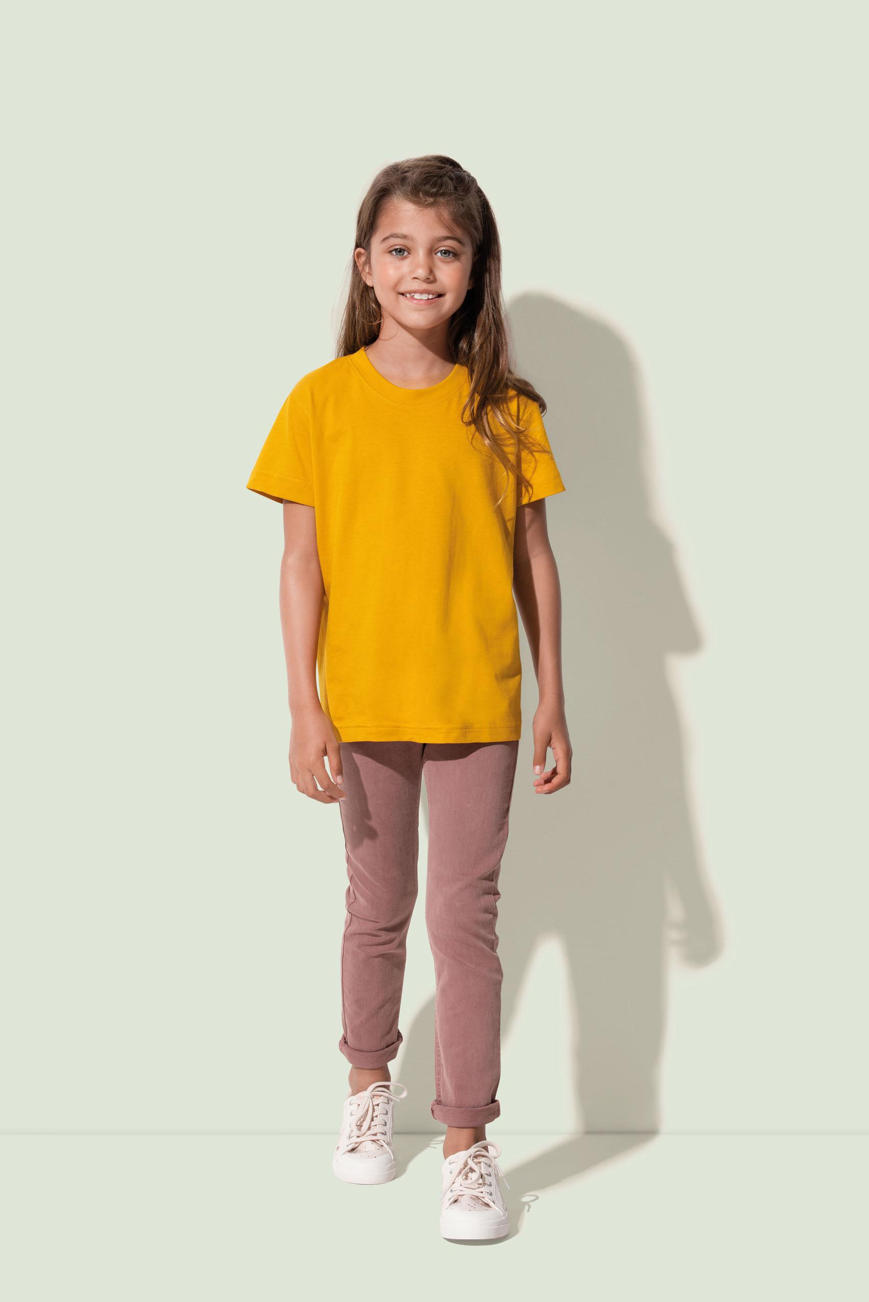 Stedman T-shirt Ronde hals Jamie voor Kinderen