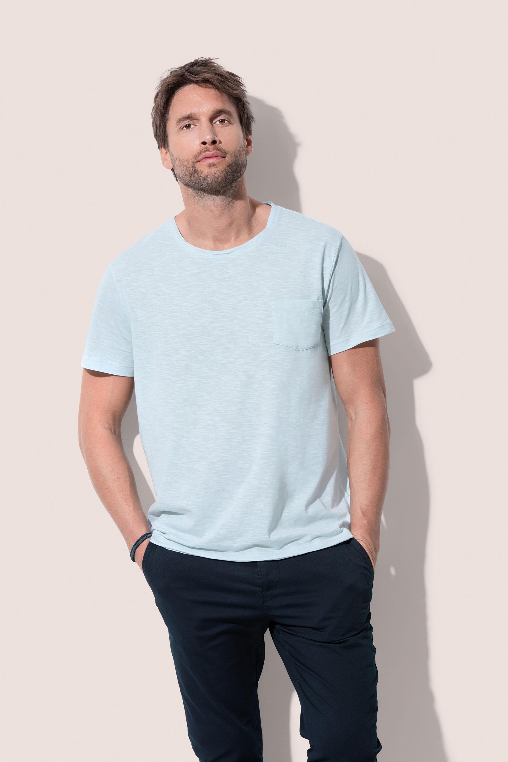 Stedman T-shirt Oversized Ronde hals Shawn voor Heren