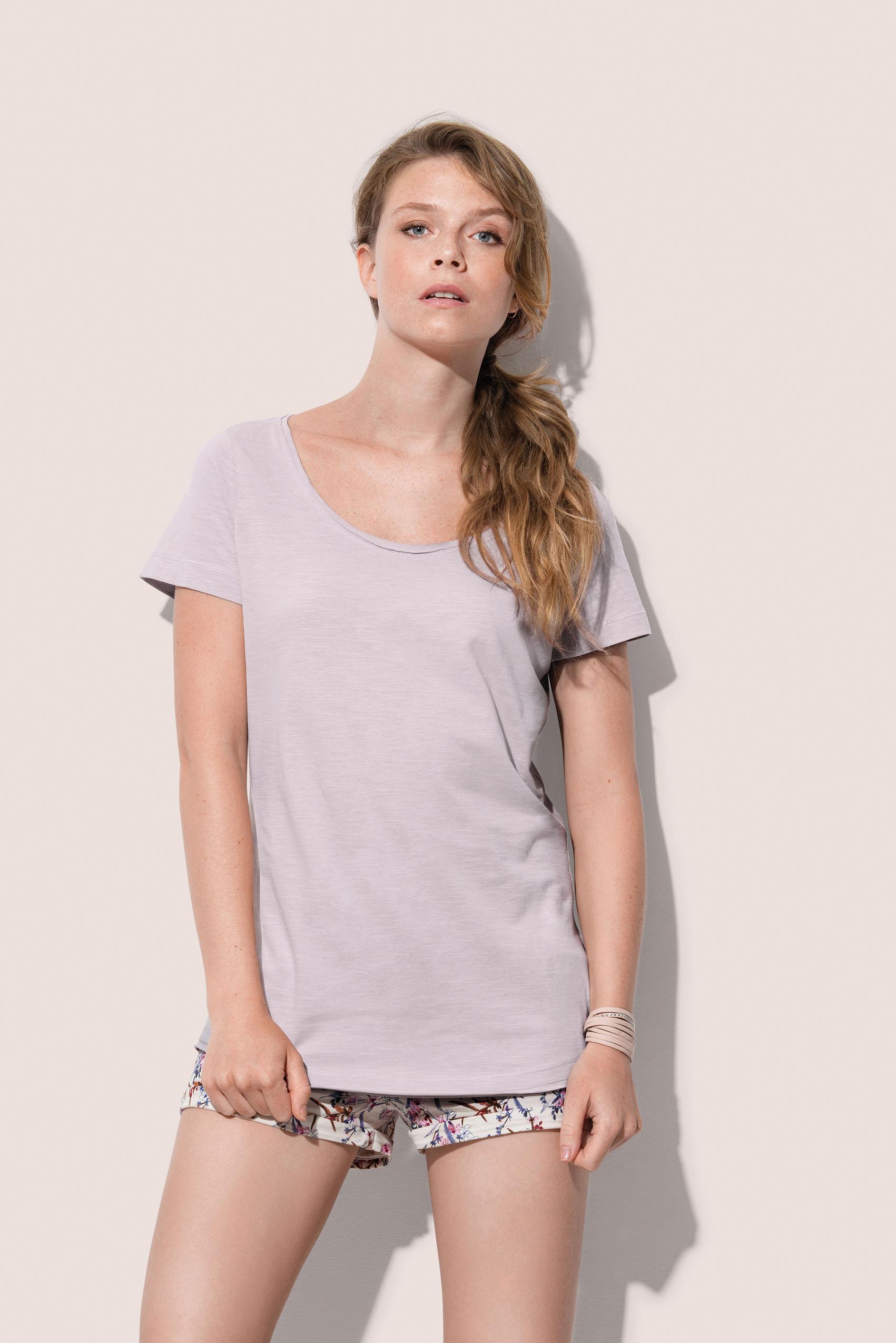 Stedman T-shirt  Oversized Ronde hals Sharon voor Dames