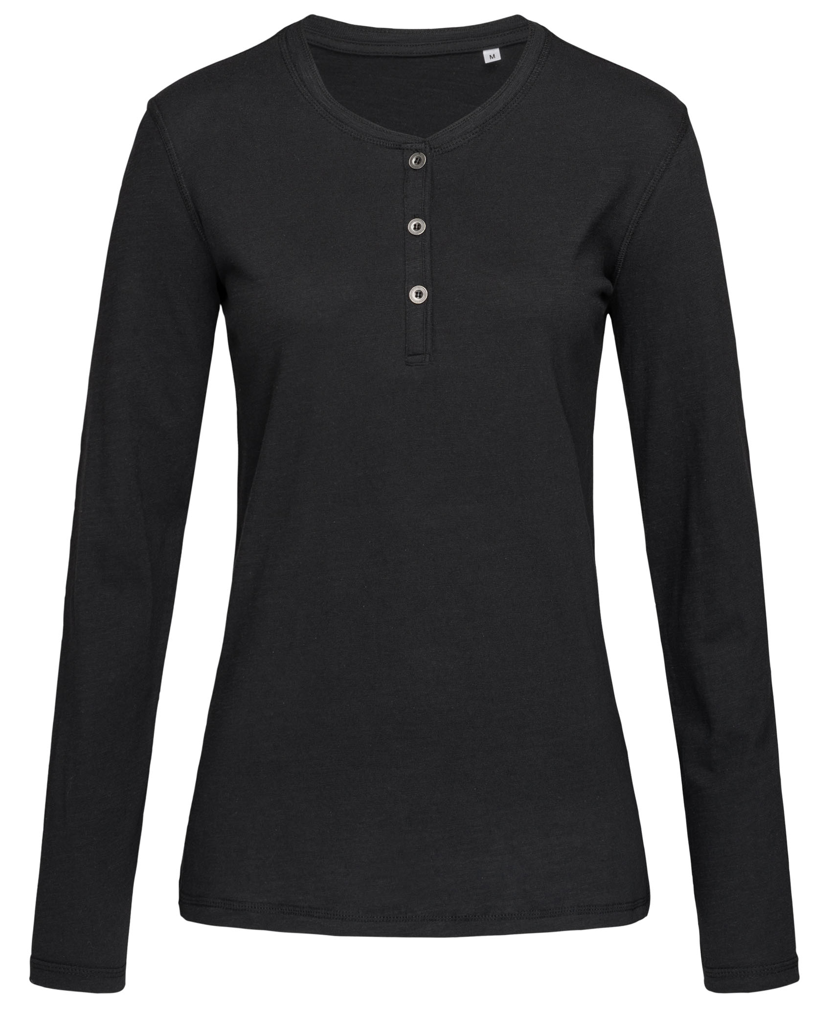 Stedman T-shirt Henley Sharon LS for her
